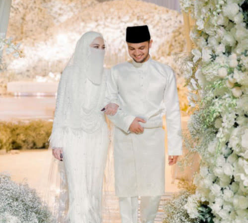 Neelofa and PU Riz tied the knot last weekend