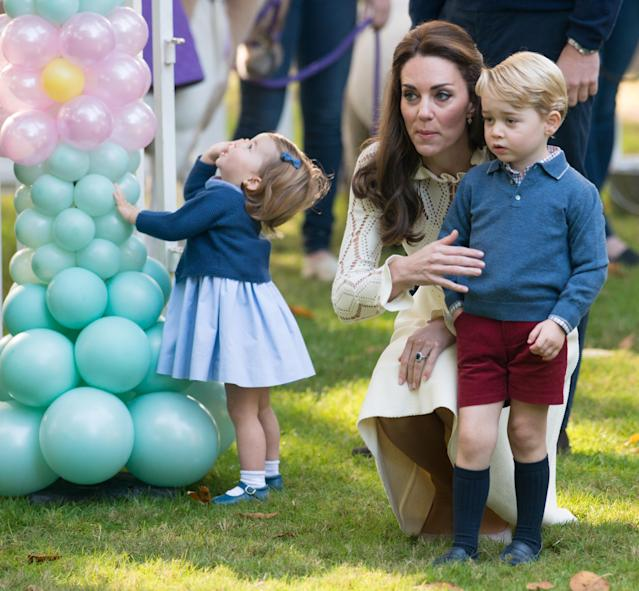 Middleton was beaten to the top spot by her late mother-in-law, Princess Diana. (Photo: Getty)