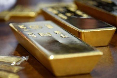 Gold was lower on Thursday.