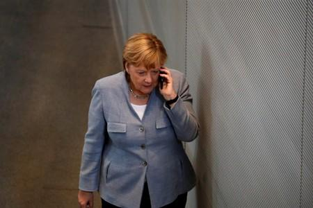 Germany's Merkel still sees 'every chance' of orderly Brexit