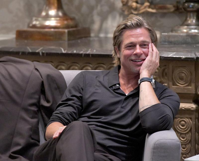 """Brad Pitt has seen a lot of love for his portrayal of Cliff Booth in """"Once Upon a Time in Hollywood."""""""
