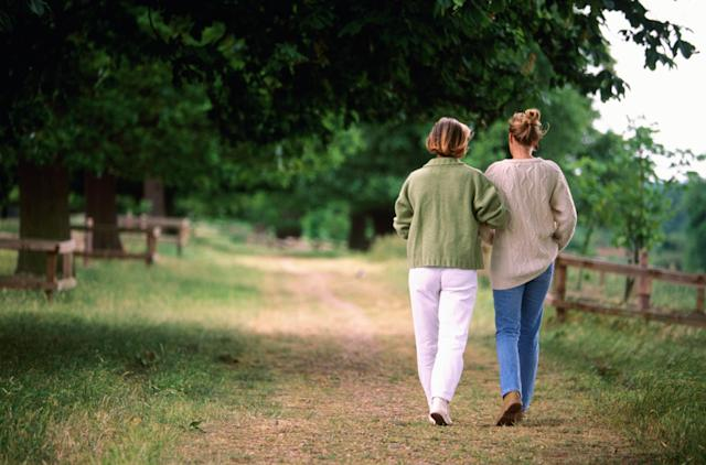 Living near green spaces may help postpone the menopause (Getty Images)