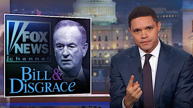 Trevor Noah Rips Fox News' Wildly Different Harvey Weinstein And Bill O'Reilly Coverage