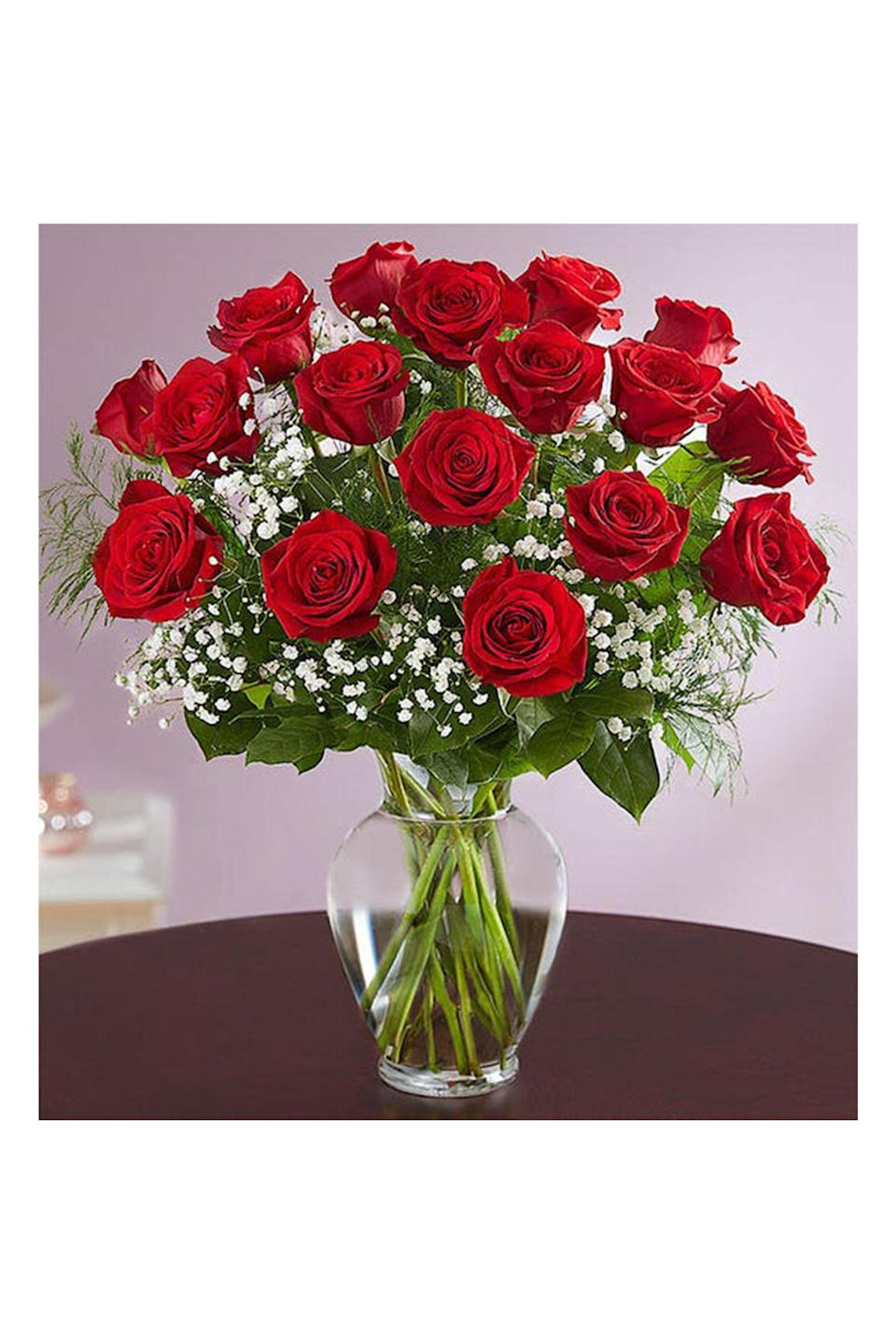 """<p><strong>1-800-Flowers</strong></p><p>1800flowers.com</p><p><strong>$59.99</strong></p><p><a href=""""https://go.redirectingat.com?id=74968X1596630&url=https%3A%2F%2Fwww.1800flowers.com%2Fflorist-delivered-long-stem-red-roses-161776&sref=https%3A%2F%2Fwww.redbookmag.com%2Flife%2Fg35152525%2Fbest-flower-delivery-service%2F"""" rel=""""nofollow noopener"""" target=""""_blank"""" data-ylk=""""slk:Shop Now"""" class=""""link rapid-noclick-resp"""">Shop Now</a></p><p>For more than 40 years, <a href=""""https://go.redirectingat.com?id=74968X1596630&url=https%3A%2F%2Fwww.1800flowers.com%2F&sref=https%3A%2F%2Fwww.redbookmag.com%2Flife%2Fg35152525%2Fbest-flower-delivery-service%2F"""" rel=""""nofollow noopener"""" target=""""_blank"""" data-ylk=""""slk:1-800-Flowers.com"""" class=""""link rapid-noclick-resp"""">1-800-Flowers.com</a> has been spreading joy with their mom-approved arrangements. Not only are they leaders in flower delivery, they also offer other gifts including fruits, gourmet foods, and gift baskets, making it a one stop shop for all your needs. Stay tuned for upcoming fashion collaborations to come.</p>"""
