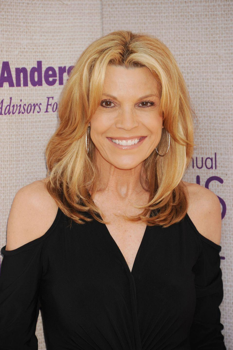 <p>Since then, Vanna has been honored for her contributions to television with her own handprints on the Hollywood Walk of Fame.</p>