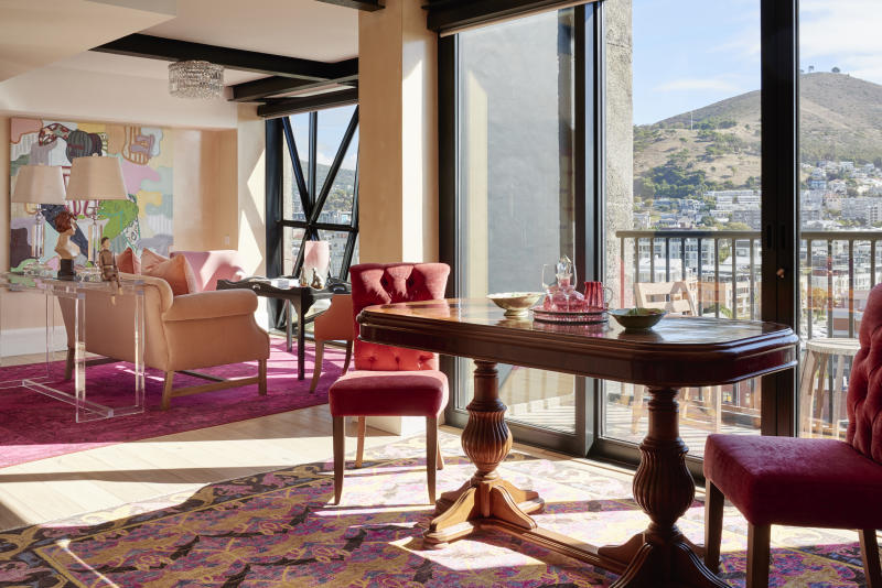 The penthouse at the Silo Hotel V&A Waterfront. [Photo: Mark Williams]