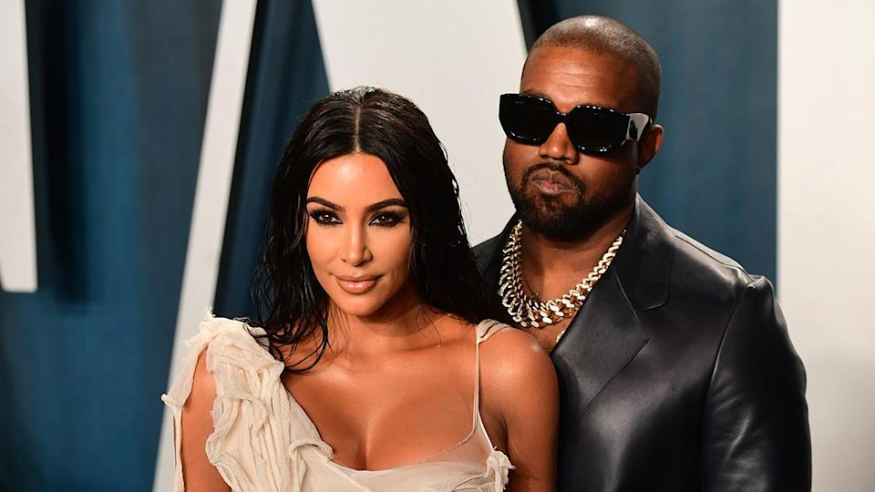 """News of Kim Kardashian and Kanye West's divorce broke earlier this year. <span class=""""copyright"""">Photo by Ian West/PA Images via Getty Images</span>"""