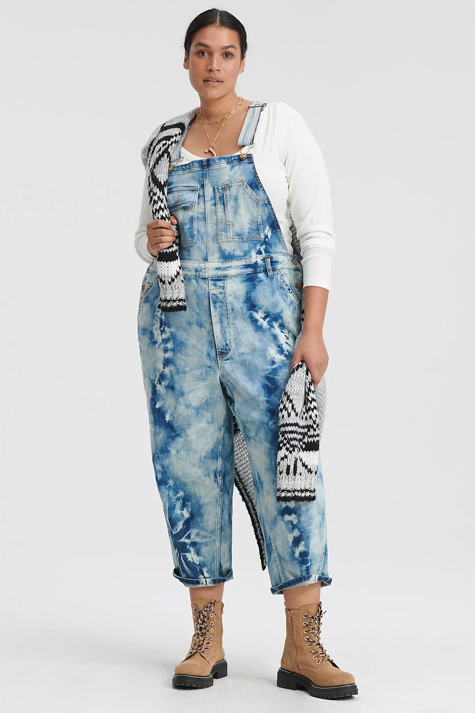 """<h2>Revamped Overalls</h2><br>""""We can't get enough of overalls in new dye techniques, patterns, washes, or with a ruffle. Overalls are so versatile she can wear them lounging in a tee, or out for a walk in town."""" <br><br>– Anu Narayanan, Chief Merchandising Officer, Anthropologie Group<br><br><strong>Pilcro and the Letterpress</strong> Bleached Tie-Dye Denim Overalls, $, available at <a href=""""https://go.skimresources.com/?id=30283X879131&url=https%3A%2F%2Fwww.anthropologie.com%2Fshop%2Fpilcro-bleached-tie-dye-denim-overalls%3Fcolor%3D091%26type%3DSTANDARD%26quantity%3D1"""" rel=""""nofollow noopener"""" target=""""_blank"""" data-ylk=""""slk:Anthropologie"""" class=""""link rapid-noclick-resp"""">Anthropologie</a>"""