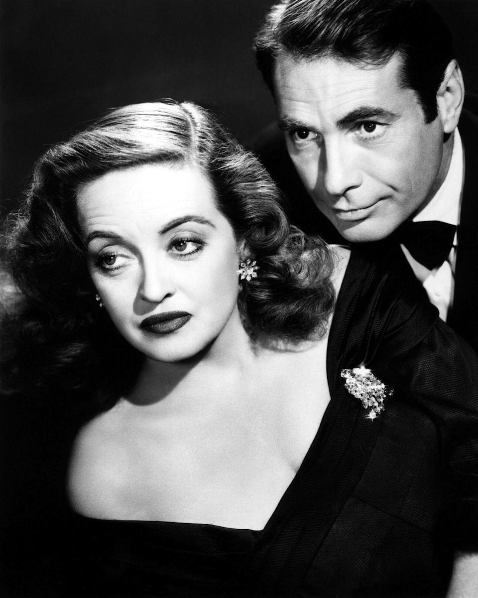 <p>Davis and her <em>All About Eve</em> co-star Gary Merrill became romantically involved during the movie's production, and married soon after filming concluded in 1950.</p>