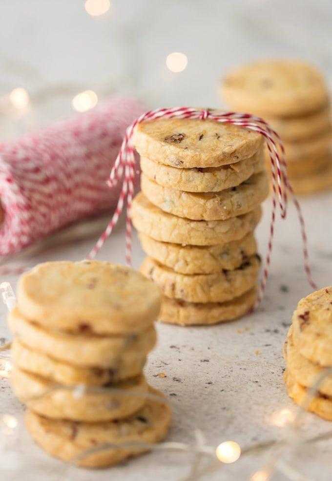 """<p>Cranberry + orange = a match made in Christmas heaven.</p><p><strong>Get the recipe at <a href=""""https://www.thecookierookie.com/orange-cranberry-shortbread-cookies/"""" rel=""""nofollow noopener"""" target=""""_blank"""" data-ylk=""""slk:The Cookie Rookie"""" class=""""link rapid-noclick-resp"""">The Cookie Rookie</a>.</strong></p>"""