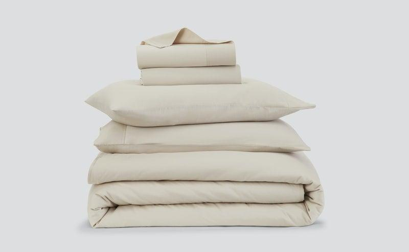 <p>Casper just launched its newest <span>Flannel Sheets</span> ($208-$308), and they are a total must as it gets colder. They're made with 100 percent brushed organic cotton that is soft and still lightweight but adds that extra layer of comfort for colder months.</p>