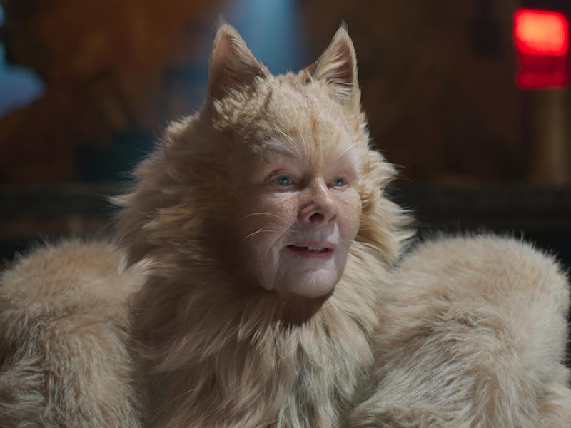 "Judi Dench schlüpft in ""Cats"" in die Rolle von Old Deuteronomy (Bild: © 2019 Universal Pictures. All Rights Reserved.)"