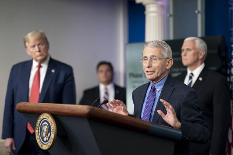 Fauci Says U.S. Won't Get Back to Normal Until 'End of 2021'