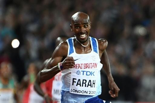 Brilliant Farah captures 10th successive global title