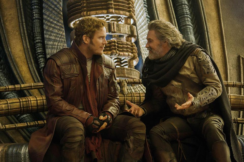 Star Lord and Ego
