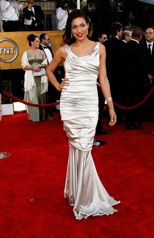 "WORST: <a href=""http://movies.yahoo.com/movie/contributor/1800023039"">Rosario Dawson</a> at the 15th Annual Screen Actors Guild Awards in Los Angeles - 01/25/2009"