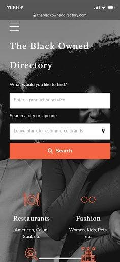 """<h3>The Black Owned Directory</h3><br><a href=""""https://www.theblackowneddirectory.com/"""" rel=""""nofollow noopener"""" target=""""_blank"""" data-ylk=""""slk:The Black Owned Directory"""" class=""""link rapid-noclick-resp"""">The Black Owned Directory</a> is a new website that is itself Black-owned and was created for people of all races to come together and support Black-owned businesses nationwide. According to Jasmine Carter, The Black Owned Directory's founder, """"Shopping Black-owned should be a lifestyle, not a fad."""" The platform allows users to discover Black-owned businesses nearby, as well as shop online goods and services. Shoppers can type in keywords and scroll through Black-owned business listing results that pop up. Each business profile shares details about the business, its website link, photos, videos, social media pages, contact information, hours of operation, and more. The directory's Google Maps integration also allows users to easily locate businesses in their city, within a radius of the user's choice.<br><br><a href=""""https://www.instagram.com/theblackowneddirectory/"""" rel=""""nofollow noopener"""" target=""""_blank"""" data-ylk=""""slk:Follow The Black Owned Directory on Instagram"""" class=""""link rapid-noclick-resp""""><strong>Follow The Black Owned Directory on Instagram</strong></a><br><a href=""""https://twitter.com/TheBlackOwnedD"""" rel=""""nofollow noopener"""" target=""""_blank"""" data-ylk=""""slk:Follow The Black Owned Directory on Twitter"""" class=""""link rapid-noclick-resp""""><strong>Follow The Black Owned Directory on Twitter<br></strong></a><a href=""""https://www.facebook.com/theblackowneddirectory/"""" rel=""""nofollow noopener"""" target=""""_blank"""" data-ylk=""""slk:Like The Black Owned Directory on Facebook"""" class=""""link rapid-noclick-resp""""><strong>Like The Black Owned Directory on Facebook</strong></a>"""