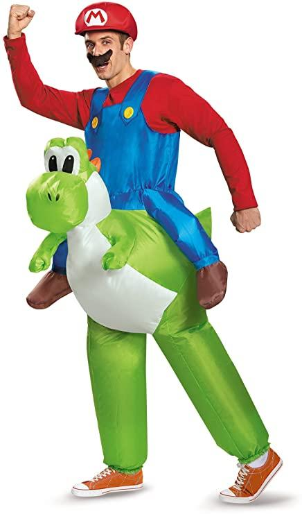 Disguise Costumes Mario Riding Yoshi. Photo via amazon