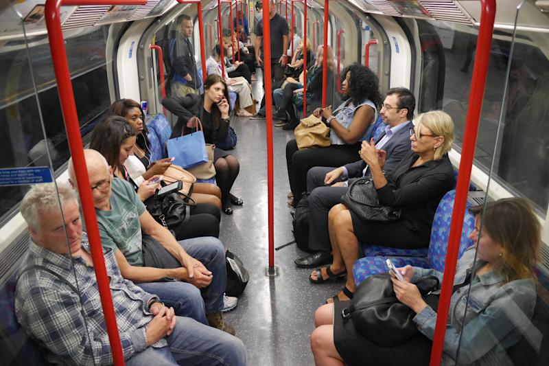 The Mayor has set a 2019 deadline for the start of 4G coverage in London's Tube tunnels: Alamy