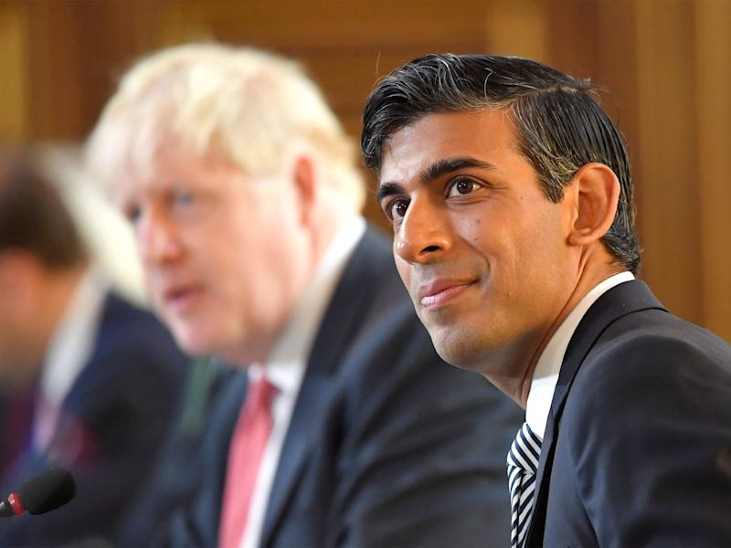 Chancellor Rishi Sunak will make an announcement in the House of Commons today regarding the financial response to the worsening covid crisis (Toby Melville/ PA)