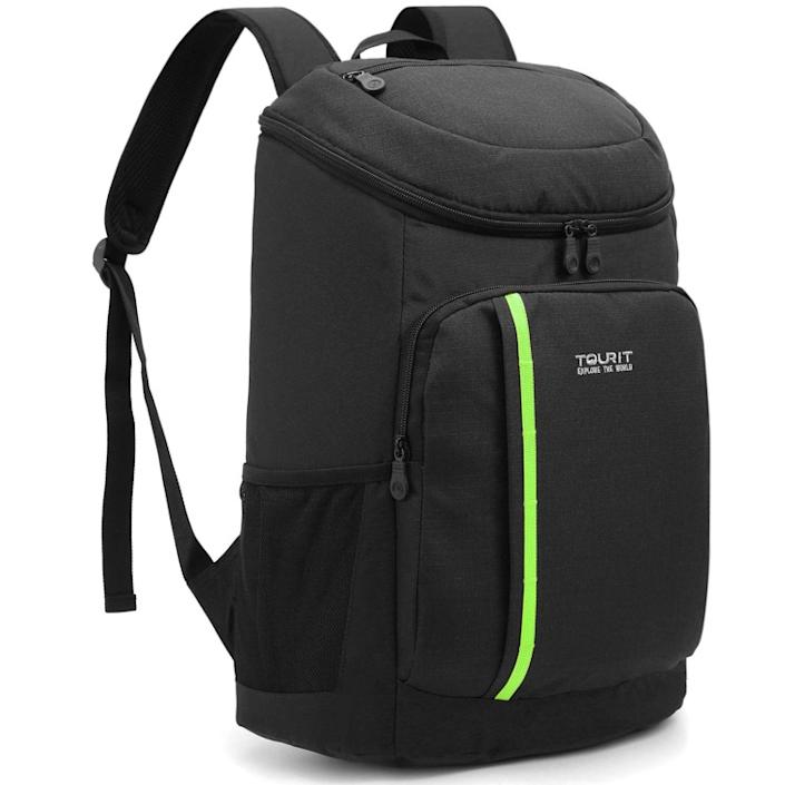 TOURIT 30-can cooler backpack.  (Photo: Amazon)
