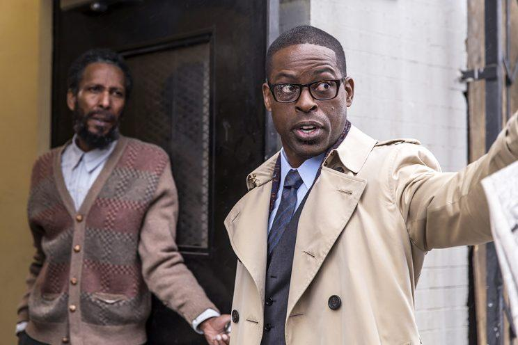 Ron Cephas Jones as William, Sterling K. Brown as Randall (Photo by: Ron Batzdorff/NBC)