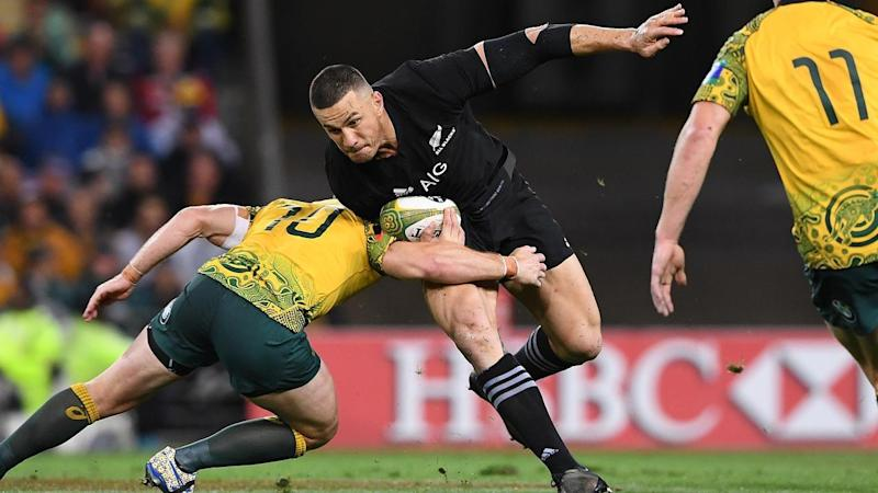 Sonny Bill Williams' skill set has been acknowledged by two thankful All Blacks team-mates.