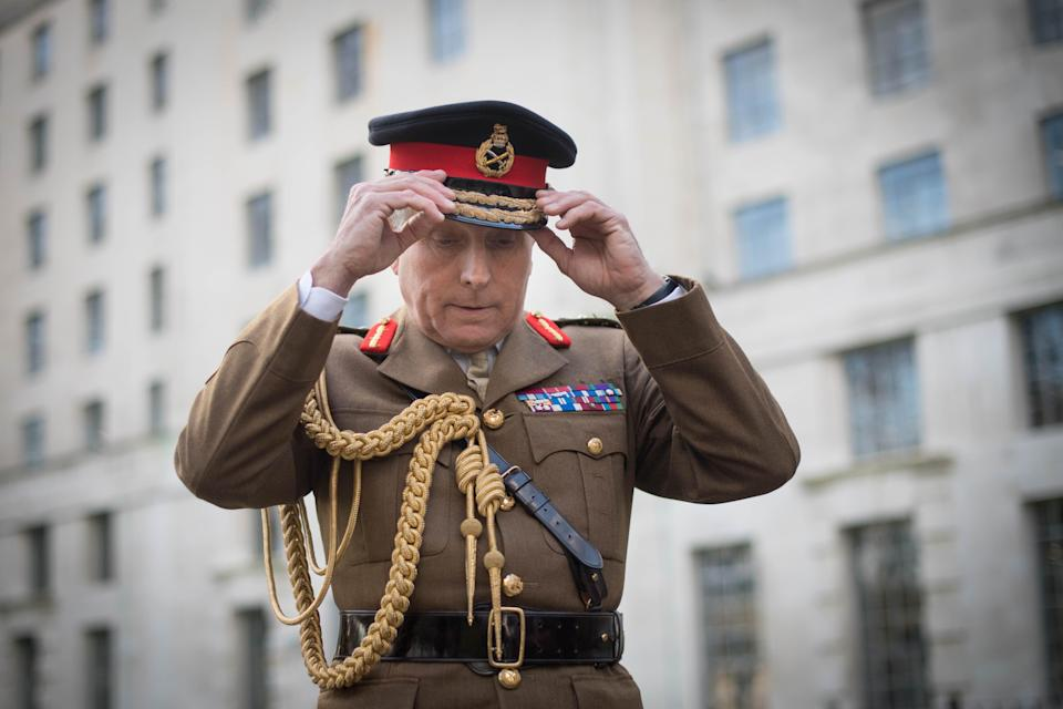 Chief of the Defence Staff, General Sir Nick Carter (PA)