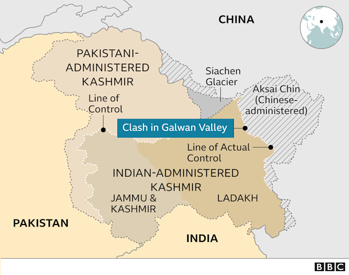The United States Must Evict the Military Occupier of Tibet. Kashmir map