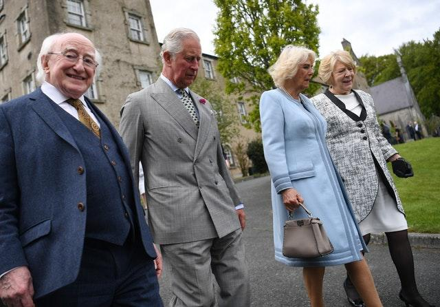 Royal visit to Ireland – day one