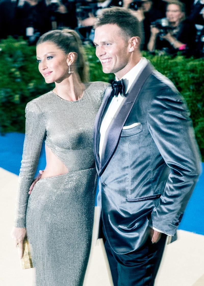 Tom Brady and Gisele Bündchen at the Met Gala.