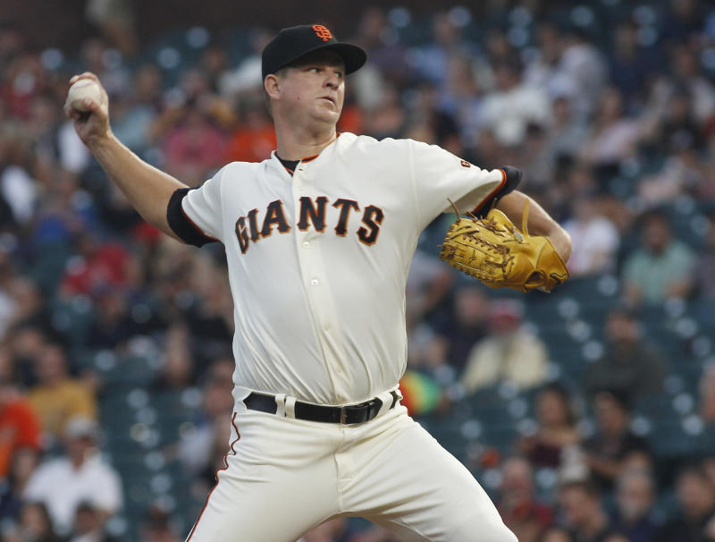 Giants Starter Matt Cain Announces His Retirement