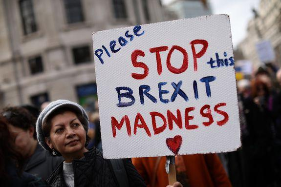 Madness is an understatement when it comes to the Brexit mess