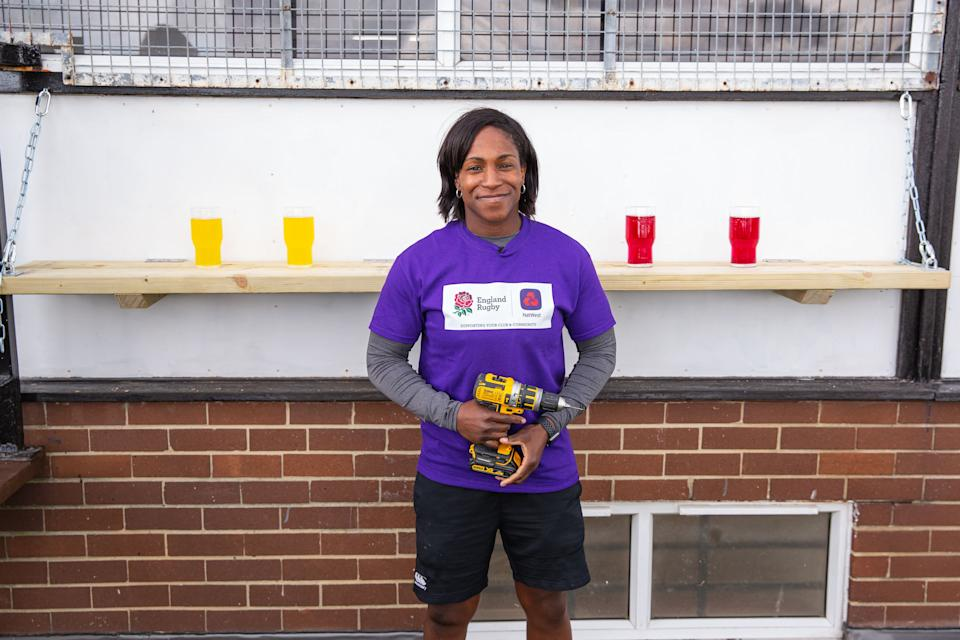 The former England ace reckons her grassroots experience laid the foundations for her thrilling rugby career