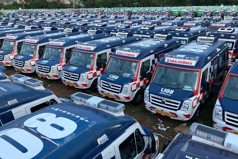 Road to Recovery: Andhra Pradesh Gets over 1,000 High-tech Ambulances to Speed up Emergency Services