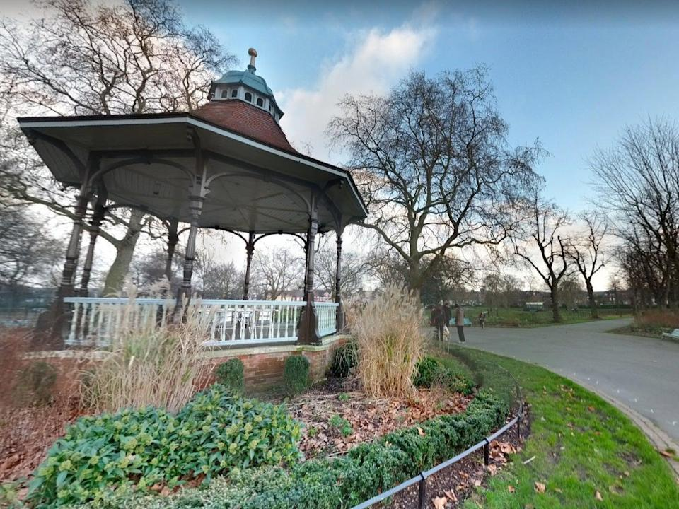 A three-year-old has suffered 'life-changing' injuries after a collision with an e-scooter at Myatt's Fields Park (pictured) (Google Maps)