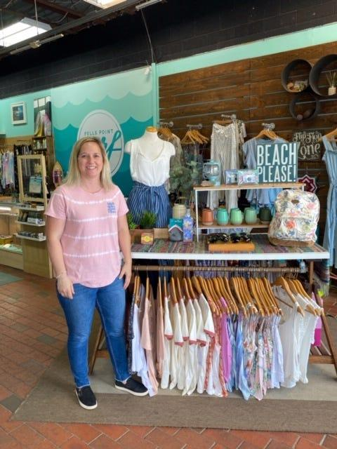 Alison Schuch, owner of Fell's Point Surf