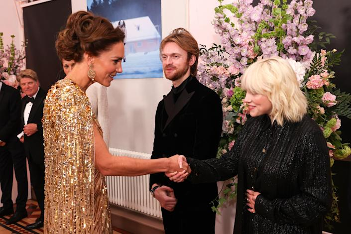 """<h1 class=""""title"""">The Prince Of Wales And The Duchess of Cornwall, And The Duke And The Duchess Of Cambridge Attend The World Premiere Of """"No Time to Die""""</h1><cite class=""""credit"""">Chris Jackson/Getty Images</cite>"""