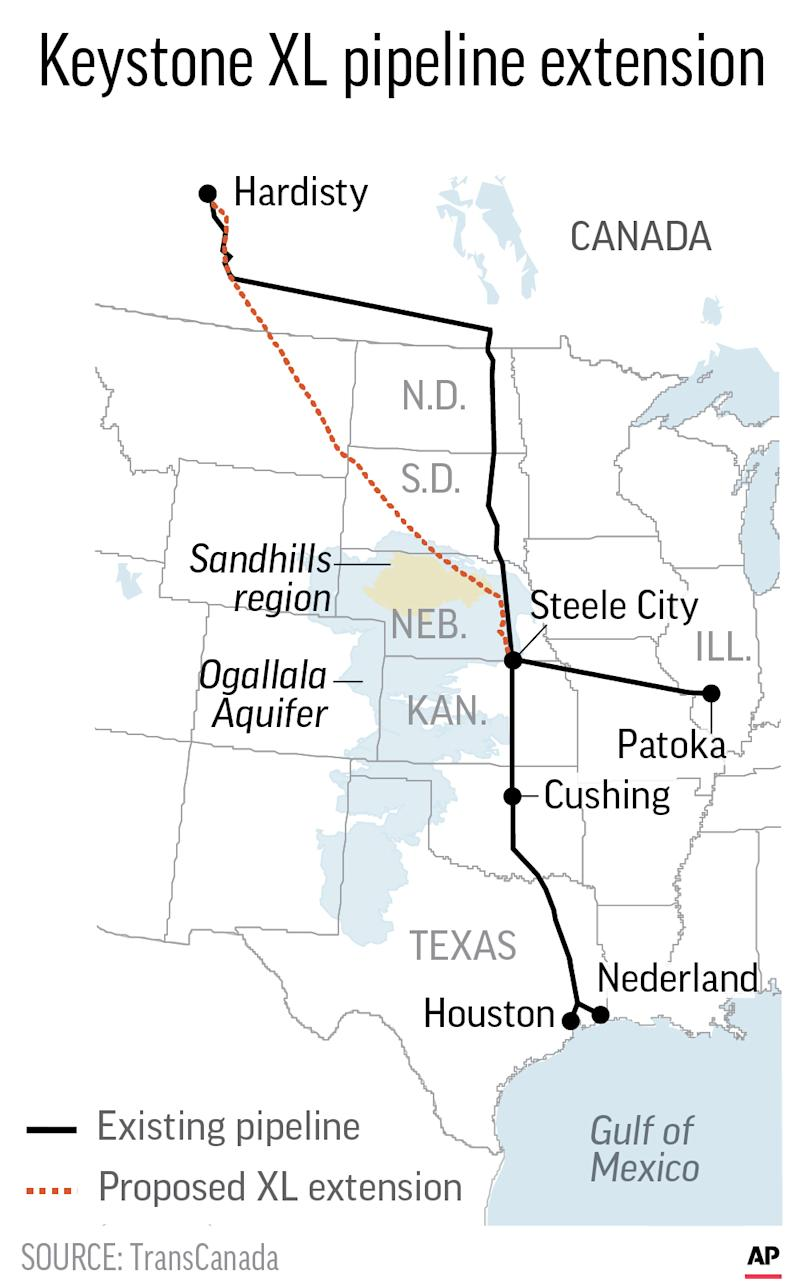 Judge: Lawsuit challenging Keystone pipeline can continue