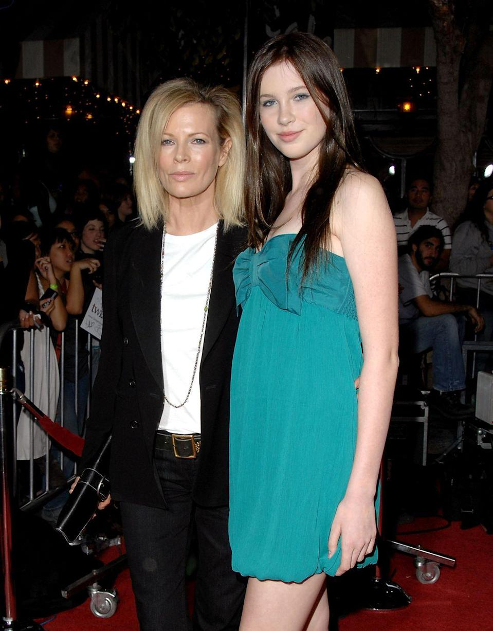 <p>Kim Basinger and Alec Baldwin's only child looks just like her mom. The 24-year-old, who has dabbled in the modeling world, shares Basinger's facial features. <br></p>