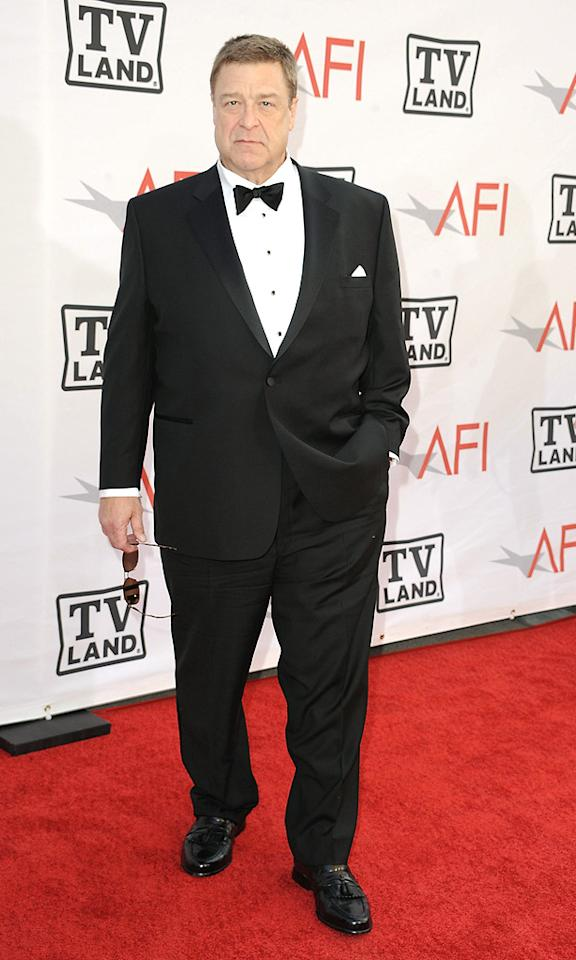 "<a href=""http://movies.yahoo.com/movie/contributor/1800016364"">John Goodman</a> attends the 38th Annual Lifetime Achievement Award Honoring Mike Nichols at Sony Pictures Studios on June 10, 2010 in Culver City, California."