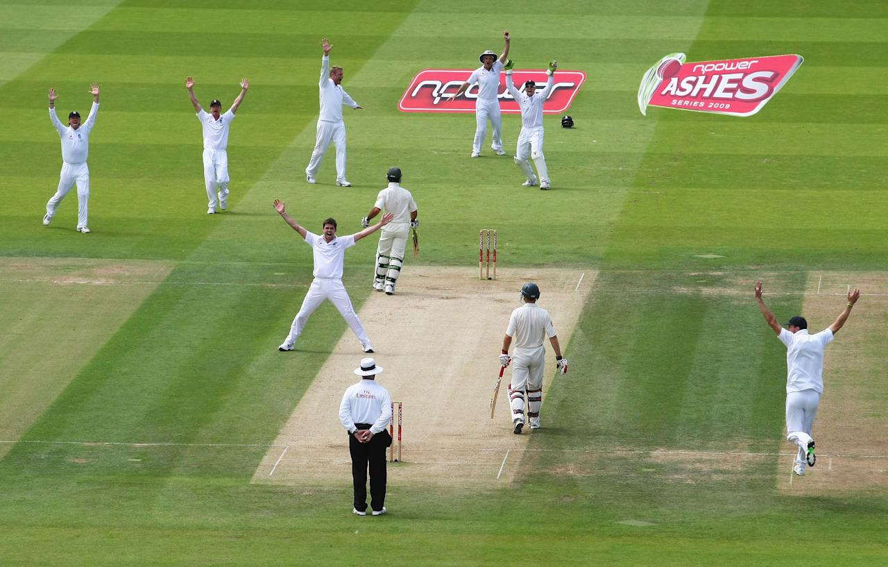 Anderson's four-wicket haul then confined the Aussies to a paltry 215 in reply.