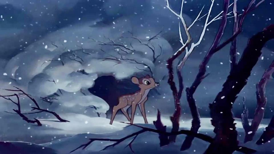 Bambi lost her mother. (Photo: Walt Disney Pictures)