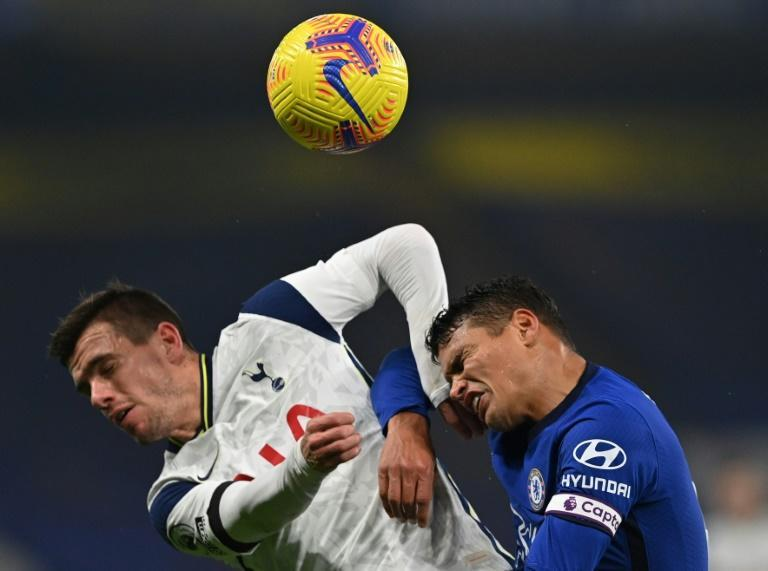 Honours even: Chelsea and Tottenham played out an uninspiring 0-0 draw on Sunday