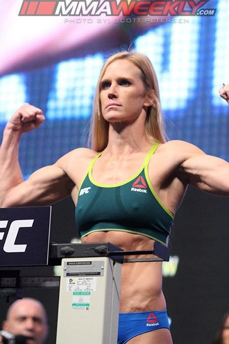 Holly Holm and Germaine de Randamie to Fight for Inaugural UFC Women's Featherweight Title