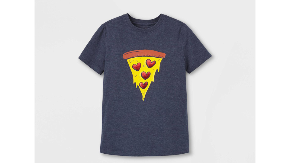 Valentine's gifts for kids: Pizza T-shirt