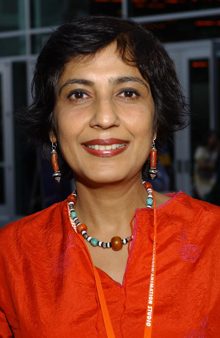 Ritu Sarin, Editor (Investigations) at the Indian Express daily, is also a film maker and producer. (Photo by Axel Koester/Corbis via Getty Images)