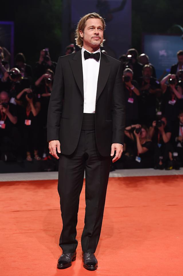 <p>WHERE: A screening of <em>Ad Astra</em> at the Venice Film Festival</p> <p>WHEN: August 29, 2019</p> <p>WHY: The cummerbund tux just looks better when you've got surfer hair.</p>