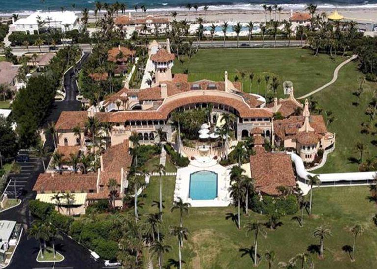 El club Mar-a-Lago del expresidente Donald Trump