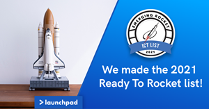 """Rocket Builders just released their seventeenth (17th) annual """"Ready to Rocket"""" lists, and Launchpad Technologies was selected for the Emerging Rocket list. Rocket Builders releases 'Ready to Rocket' Lists to profile BC tech companies with the highest growth potential in 2021."""